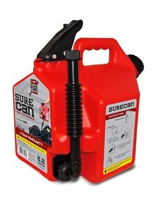 Surecan Sur22g1 Gas Can With Rotating Spout 2 2 Gallon