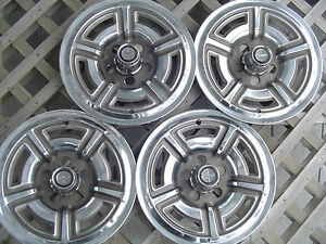 66 69 Ford Galaxie Mustang 15 In Mag Hubcaps Wheel Covers Antique Vintage