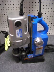 Hougen Hmd904s Magnetic Drill In Stock New Redesigned Swivel Base
