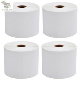 10 Rolls Direct Thermal Shipping Labels 500 roll 4x6 For Zebra Zp450 Eltron 2844