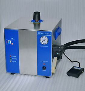 Steam Cleaner For Dental Lab Or Jewellery Wands 5bar 2l low Water Warning