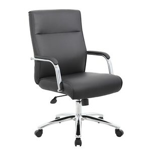 Boss Modern Executive Conference Chair Black