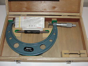 Never Used Mitutoyo 123 106 Disc Micrometer Gma 150