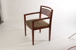 Knoll Ricchio Wood Frame Guest Chairs Studio Series