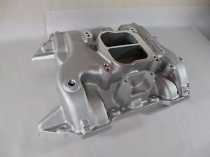 New Edelbrock Performer Intake Manifold Dodge Rb 426 440 Fits Stock Heads 2191
