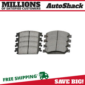 Front And Rear Ceramic Brake Pads For 2008 2012 2013 Chevrolet Silverado 1500