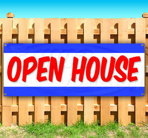 Open House Advertising Vinyl Banner Flag Sign Many Sizes Available Usa