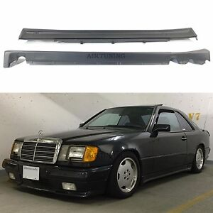 Side Skirts Valance Panels Set Fits Mercedes Benz C124 W124 Coupe Cabrio Amg