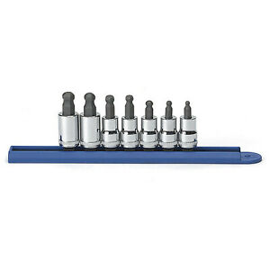 Gearwrench 80587 7 Piece Ball Hex Set Stand 3 8 Drive