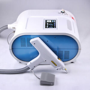 Cool Nd Q Switch Yag Laser Tattoo Eyebrow Spot Lipline Removal Beauty Cosmetic S