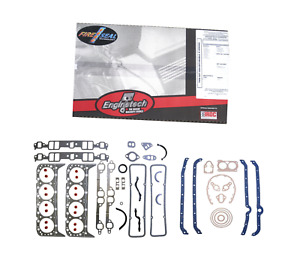 Hd Full Gasket Set 59 85 Sbc Chevy 327 350 383 Graphite Stainless Head Gaskets