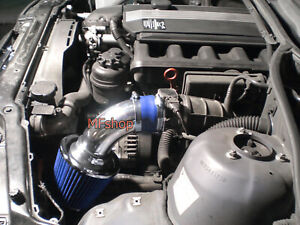 Blue For 1998 2005 Bmw E46 323 325 328 330 Air Intake System Kit Filter