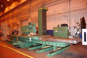 6 Giddings Lewis Cnc Table Type Horizontal Boring Mill 27449