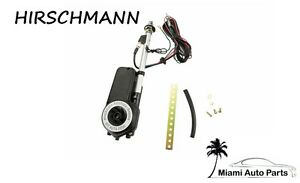 Hirschmann Style Radio Antenna With Chrome Mast Seals Power Electric Automatic