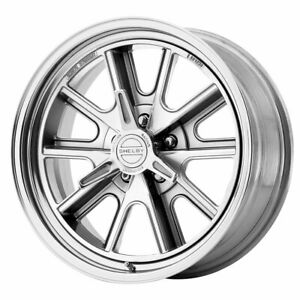 American Racing Vn427 Shelby Cobra 18x8 5x114 30 Et0 Gray Polished Qty Of 1