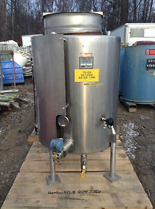 Viatec Perma san 241 Gallon Cvs Stainless Steel Sanitary Water Storage Tank