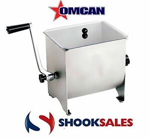 Omcan Minimix 13152 Manual Commercial Restaurant Meat Mixer With 17 Lb Tank Ny