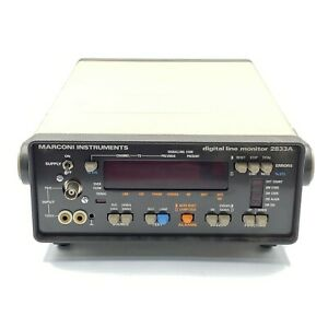 Marconi Instruments Digital Line Monitor 2833a