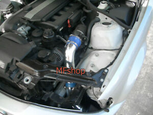 Blue For 1999 2005 Bmw E46 325 328 330 Cold Air Intake System Kit Filter