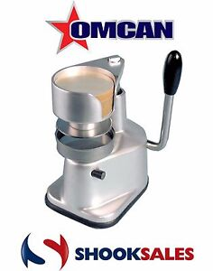 Omcan Bt13 11428 Commercial Restaurant Elite Top down Press Patty Maker