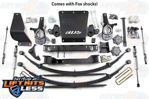Bds Suspension 181h 4 5 Lift Kit 1999 2006 Chevy Silverado Gmc Serria 1500 4wd