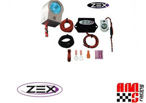 Zex 82370b Rapid Fire Machine Gun Nitrous Purge Kit Module W Blue Led Light