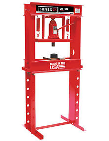 Sunex Tools 5720 Manual Shop Press 20 Ton