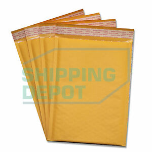 300 1 7 25x12 Kraft Bubble Mailers Self Seal Envelopes 7 25 x12 Secure Seal