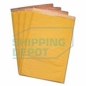 200 6 12 5x19 Kraft Bubble Mailers Self Seal Envelopes 12 5 x19 Secure Seal