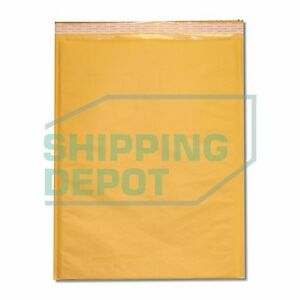 150 7 14 25x20 Kraft Bubble Mailers Self Seal Envelopes 14 25 x20 Secure Seal