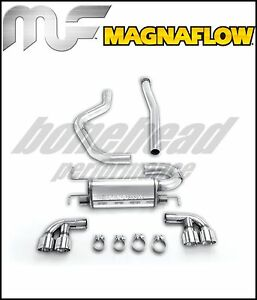 Magnaflow 16824 Street Cat Back Exhaust 08 12 Impreza Wrx Sti Hatchback Turbo
