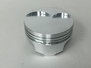 Ross Flat Top Pistons Ls2 4 005 Bore 4 00 Stroke With Pins And Rings Set 8