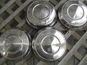 Max Wedge Plymouth Dodge Chrysler Dogdish Hubcaps Wheel Covers Center Cap Mopar