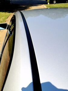For 2006 2013 Chevy Impala Black Roof Top Trim Molding Kit