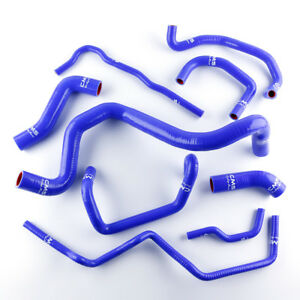 Silicone Coolant Radiator Hose Kit For Volkswagen Vw Golf Gti Mk4 1 8t 2000 2006