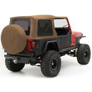 Soft Top For Jeep Wrangler Yj 1987 1995 Replacement Tinted Windows Spice 9870217