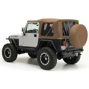 Smittybilt Soft Top For Jeep Wrangler Tj 97 06 Replacement Tinted Window 9970217