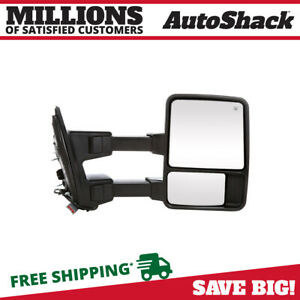 Power Heated Extendable Signal Right Side Mirror For 08 16 Ford F 250 Super Duty