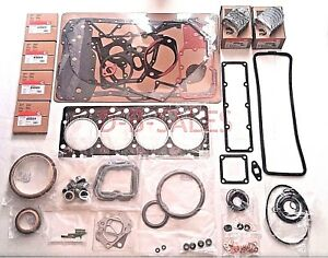 4bt Ve P7100 Quality Re ring Rebuild Kit With Rod Bearings For Cummins 3 9 12v