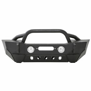 Smittybilt Xrc Gen 2 Front Bumper With Winch Plate For Jeep Wrangler 07 18 76807