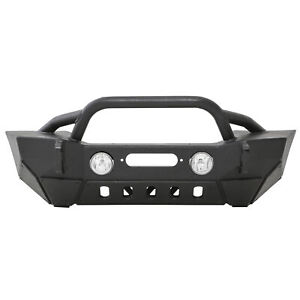 Smittybilt Xrc Gen 2 Front Bumper With Winch Plate For Jeep Wrangler 07 17 76807