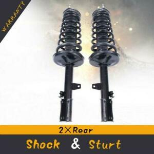 For 1997 2001 Toyota Camry Complete Struts Assembly Rear Right Left Shocks Pair