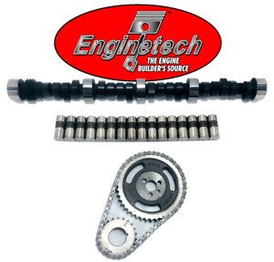 Gm Chevy Sbc 283 305 350 5 7l Hp Rv Camshaft Lifters Timing Chain 420 443 Lift