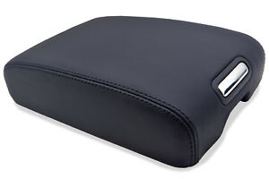 Armrest Center Console Real Leather Cover For Infiniti Fx 35 06 08 Black