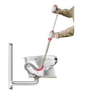 Telescopic 6 Ft Toilet Cleaning Auger Cable Bulb Head Plumbing Snake Tools Drain