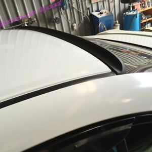 244gs Type Flat Black Rear Roof Lip Spoiler Wing For Dodge 2006 10 Charger Sedan