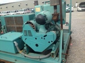 Hamworthy Deutz Diesel 3000psi 50cfm Air Compressor Texas State Surplus Seismic