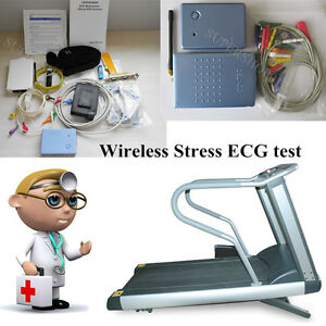 New Contec8000s Wireless Stress Ecg ekg Analysis System exercise Stress Ecg Test
