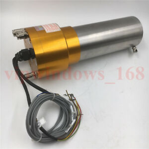 Iso20 Atc Spindle Motor 1 5kw Water cooled 220v 24000rpm Automatic Tool Change