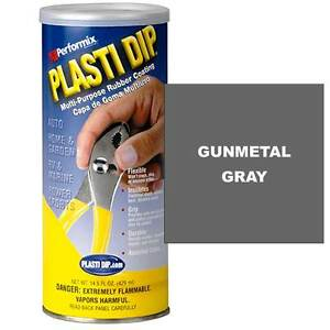 Performix 11612 Plasti Dip 14 5 Oz Dip Can Full Case Of 6 Cans Gunmetal Gray